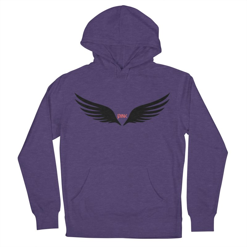 P.ink Healing Wings Wear Men's Pullover Hoody by P.INK—don't let breast cancer leave the last mark