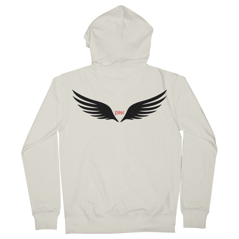 P.ink Healing Wings Wear Women's Zip-Up Hoody by P.INK—don't let breast cancer leave the last mark