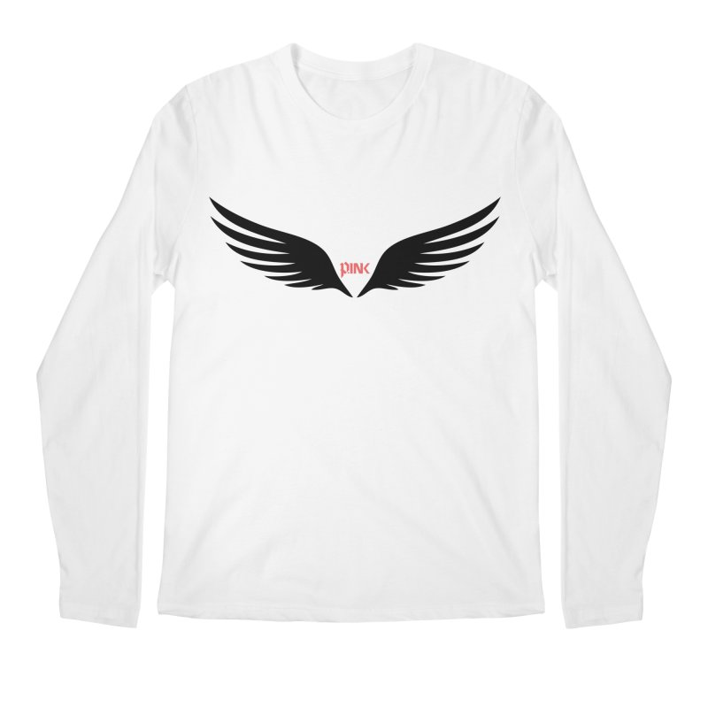 P.ink Healing Wings Wear Men's Longsleeve T-Shirt by P.INK—don't let breast cancer leave the last mark