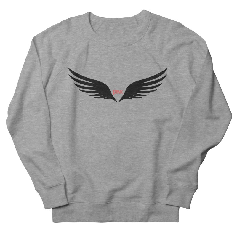 P.ink Healing Wings Wear Men's Sweatshirt by P.INK—don't let breast cancer leave the last mark