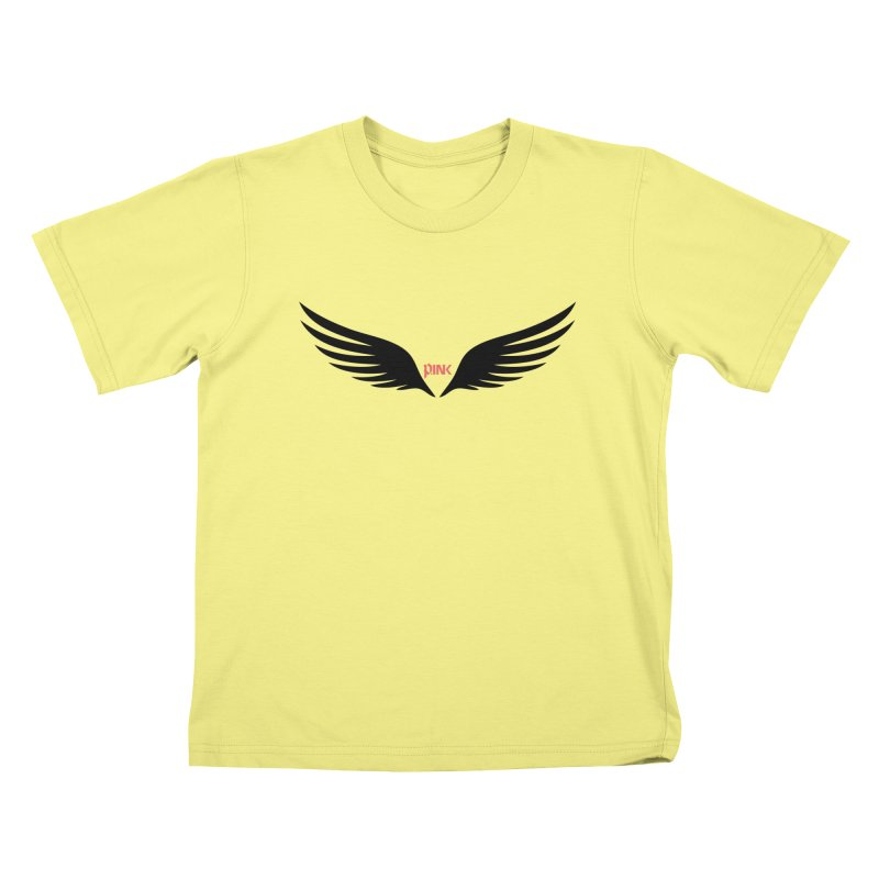 P.ink Healing Wings Wear Kids T-shirt by P.INK—don't let breast cancer leave the last mark