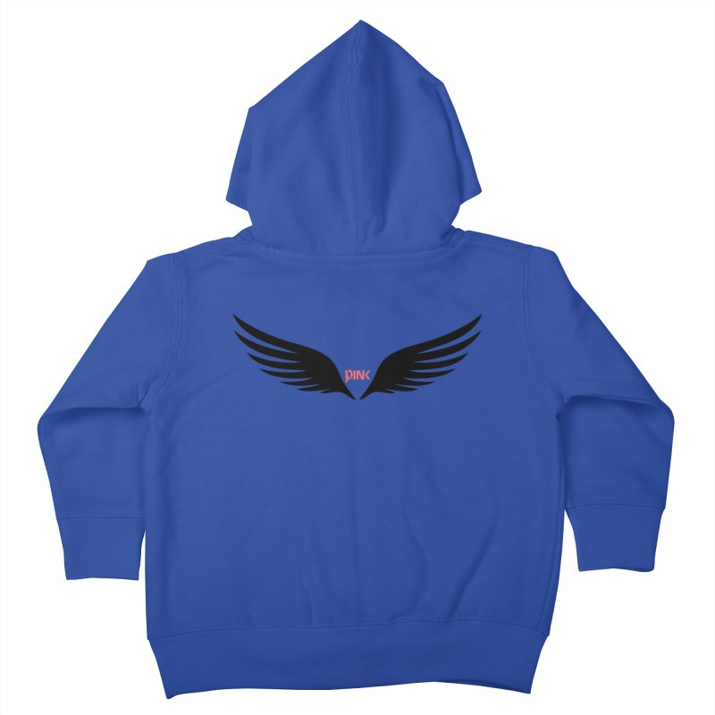 P.ink Healing Wings Wear Kids Toddler Zip-Up Hoody by P.INK—don't let breast cancer leave the last mark