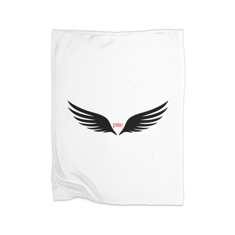 P.ink Healing Wings Wear Home Fleece Blanket Blanket by P.INK—don't let breast cancer leave the last mark
