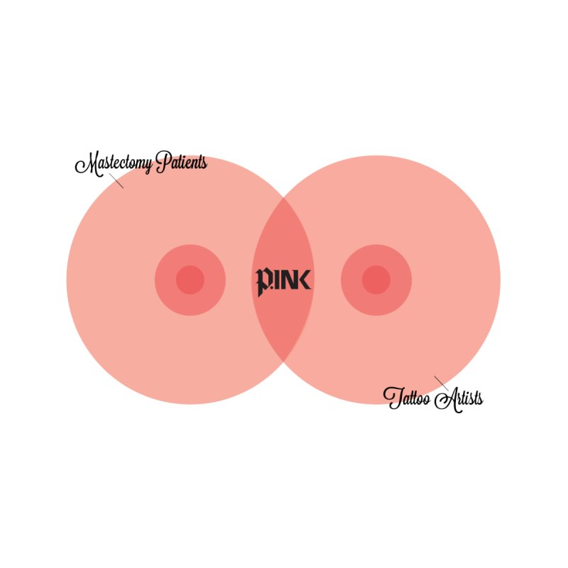 P.ink Mission Venn Wear by P.INK—don't let breast cancer leave the last mark