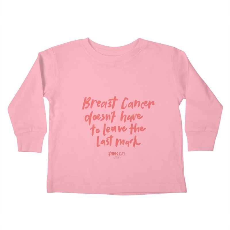 P.ink Day 2016 Breast Cancer Doesn't Have to Leave the Last Mark / Brushed Pink Wear   by P.INK—don't let breast cancer leave the last mark