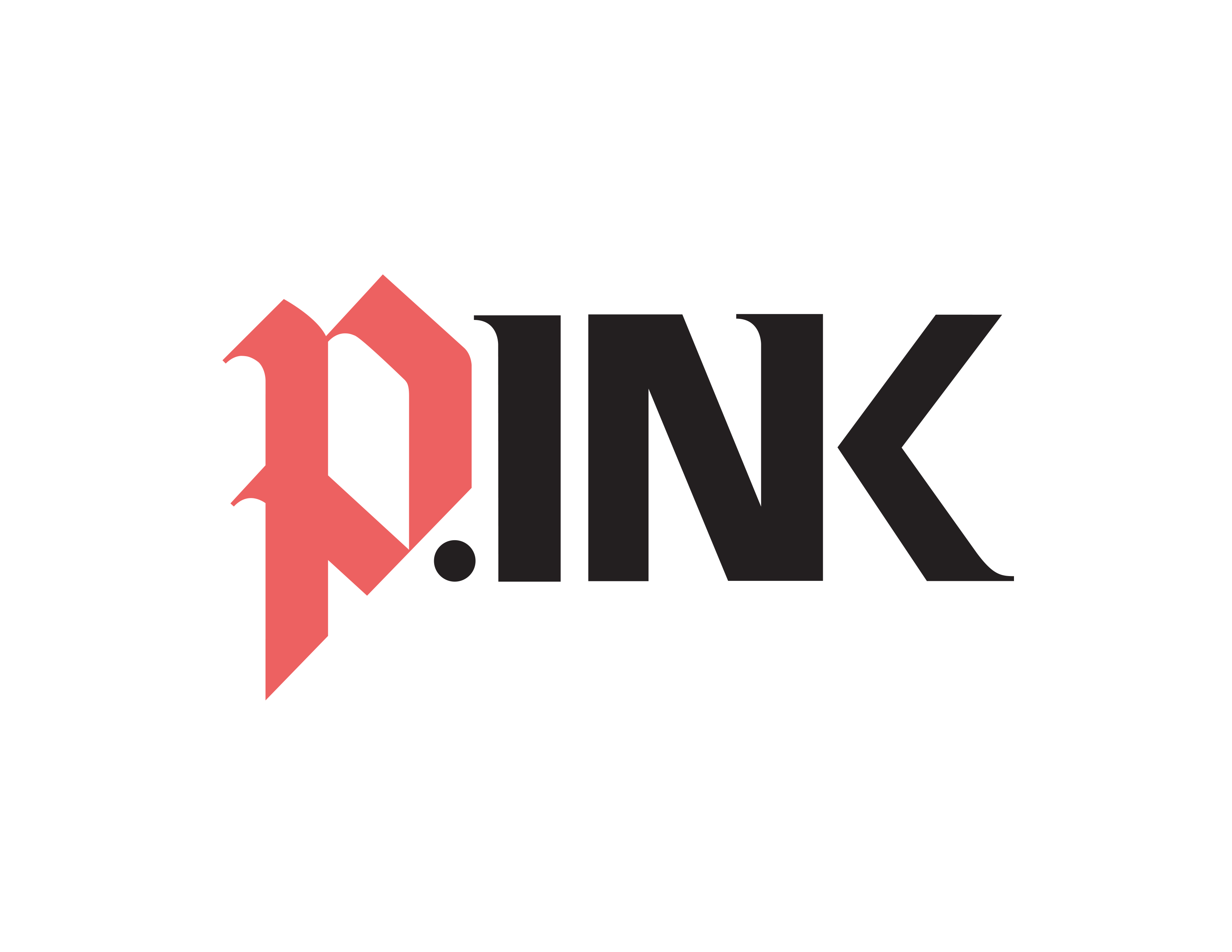 P.INK—don't let breast cancer leave the last mark Logo