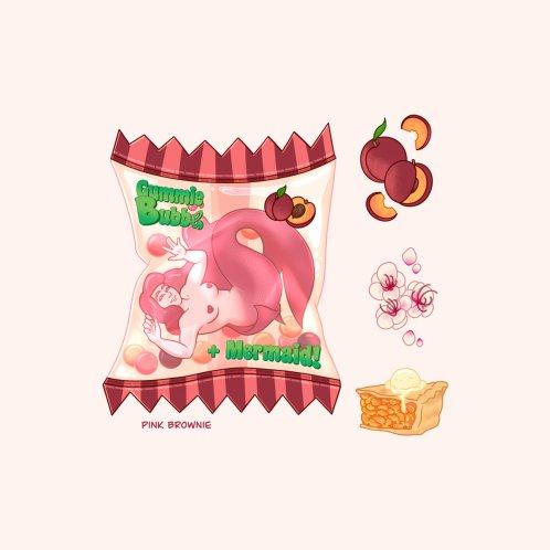 Design for Mermaid Candy - Peach