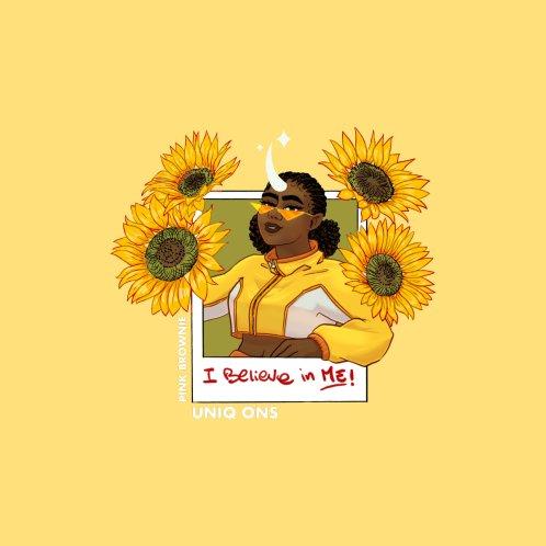 Design for I Believe In Me - Sunflower Unicorn