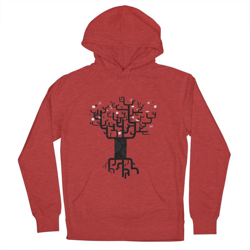 Web Tree Men's Pullover Hoody by pinkeyedpet's Artist Shop