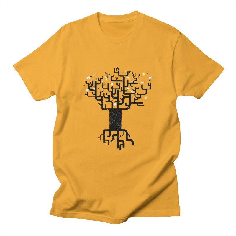 Web Tree Men's T-shirt by pinkeyedpet's Artist Shop