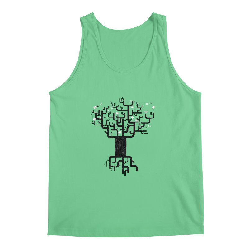 Web Tree Men's Tank by pinkeyedpet's Artist Shop
