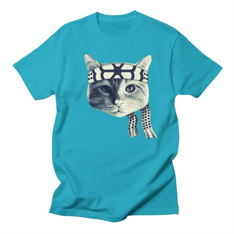 Karate Cat Men's Regular T-Shirt by Pinkstorm