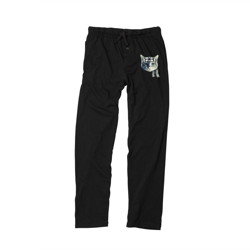 Karate Cat Women's Lounge Pants by Pinkstorm