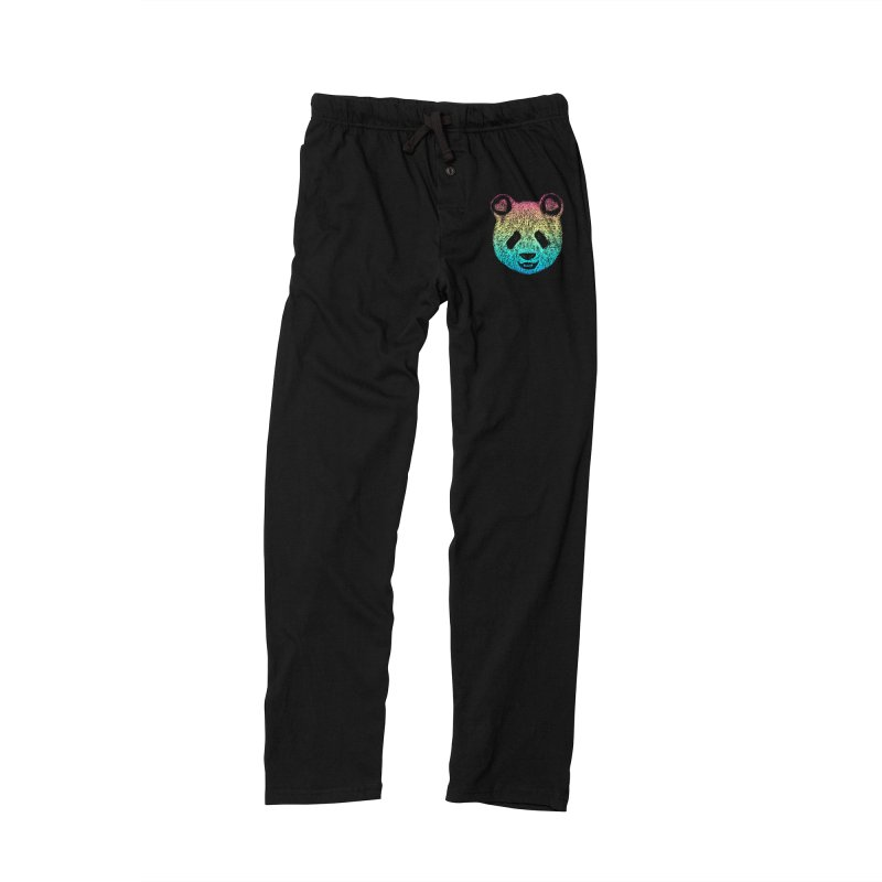 Rainbow Panda Men's Lounge Pants by Pinkstorm