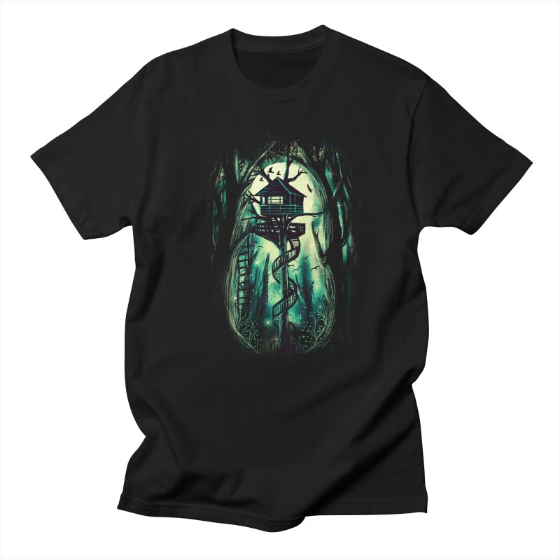 Magical Treehouse Men's T-shirt by Pinkstorm