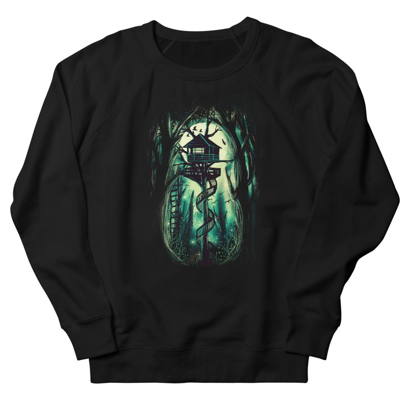 Magical Treehouse Women's French Terry Sweatshirt by Pinkstorm