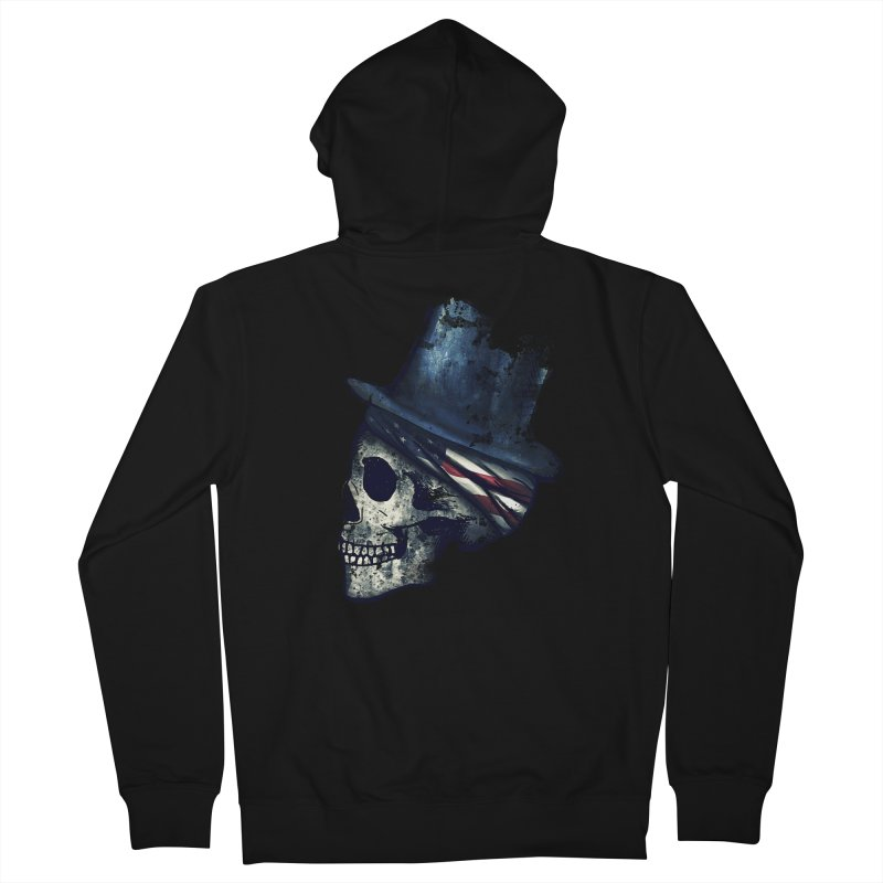 Ancient Decay Men's French Terry Zip-Up Hoody by Pinkstorm