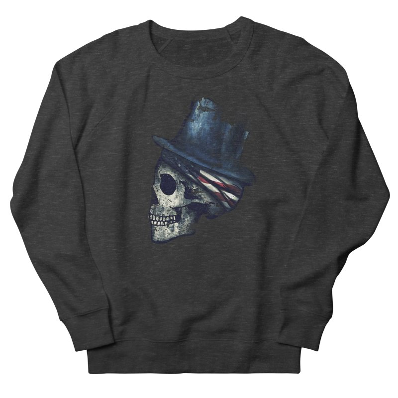 Ancient Decay Women's French Terry Sweatshirt by Pinkstorm