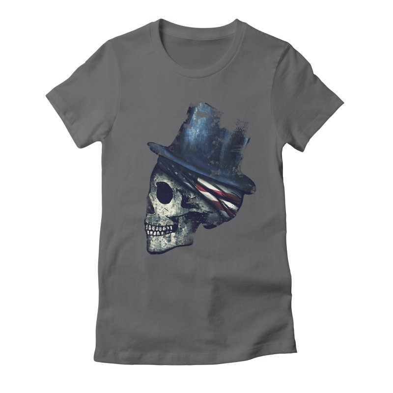 Ancient Decay Women's Fitted T-Shirt by Pinkstorm