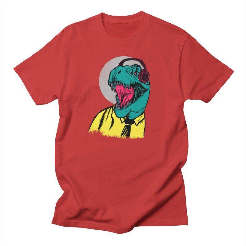 Modern Dino Men's Regular T-Shirt by Pinkstorm