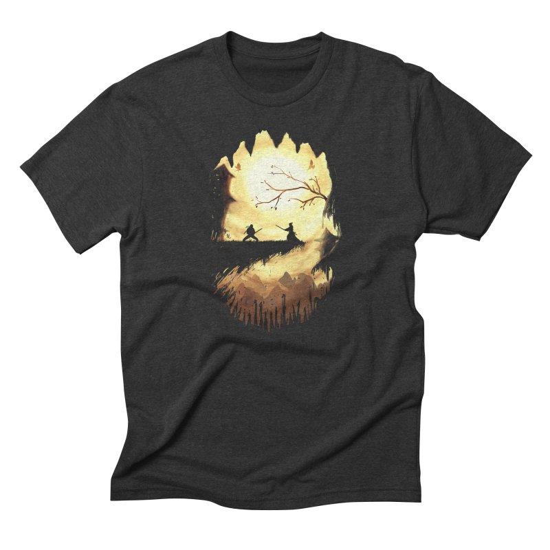 Finale Men's Triblend T-Shirt by Pinkstorm