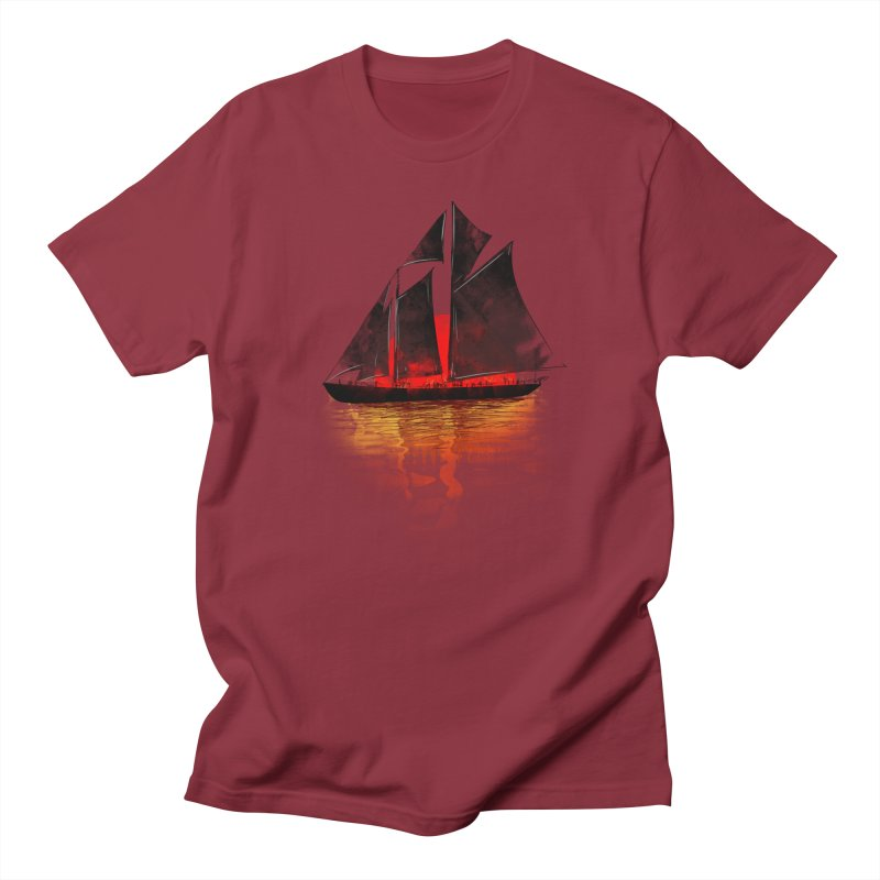 Eastern Sunset Men's Regular T-Shirt by Pinkstorm
