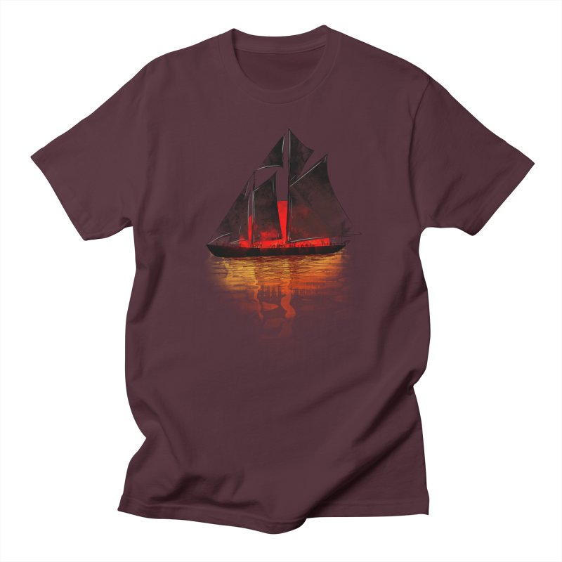 Eastern Sunset Men's T-shirt by Pinkstorm