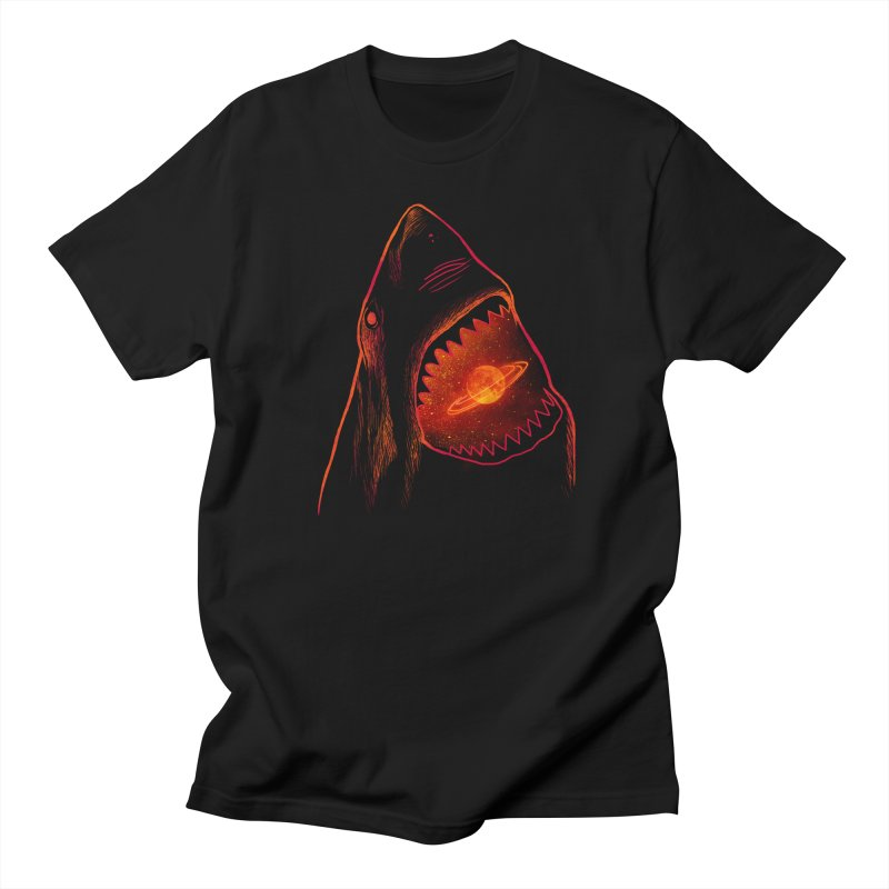 Planet Sharkturn Men's Regular T-Shirt by Pinkstorm