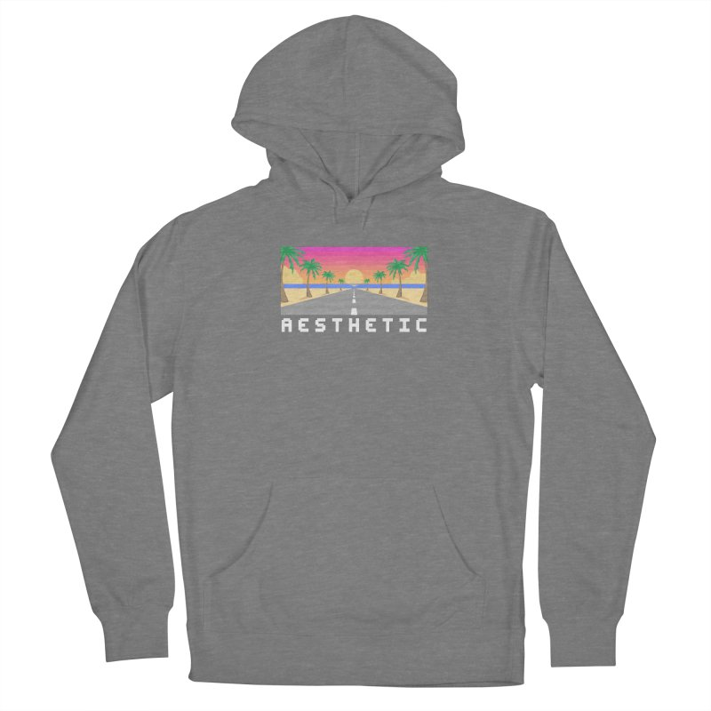 SUNSET_DRIVE Women's Pullover Hoody by pinksyrup's Artist Shop