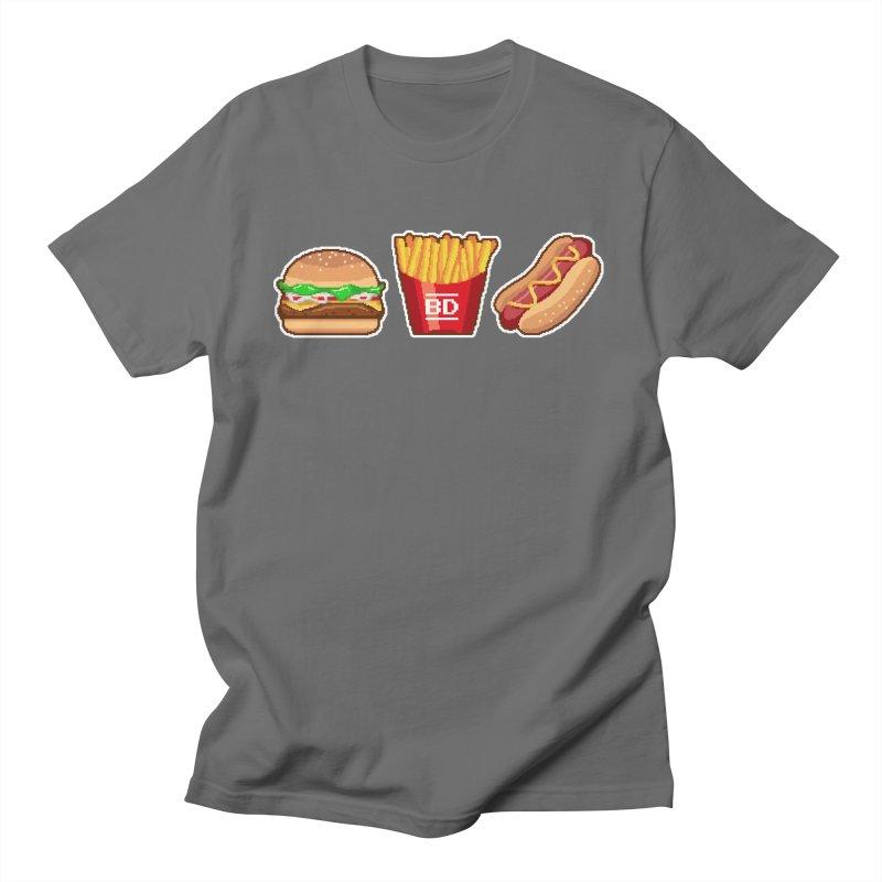 BURGER_DREAMS Men's T-Shirt by pinksyrup's Artist Shop
