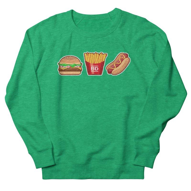 BURGER_DREAMS Women's Sweatshirt by pinksyrup's Artist Shop