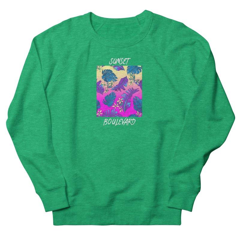 SUNSET_BOULEVARD Women's Sweatshirt by pinksyrup's Artist Shop