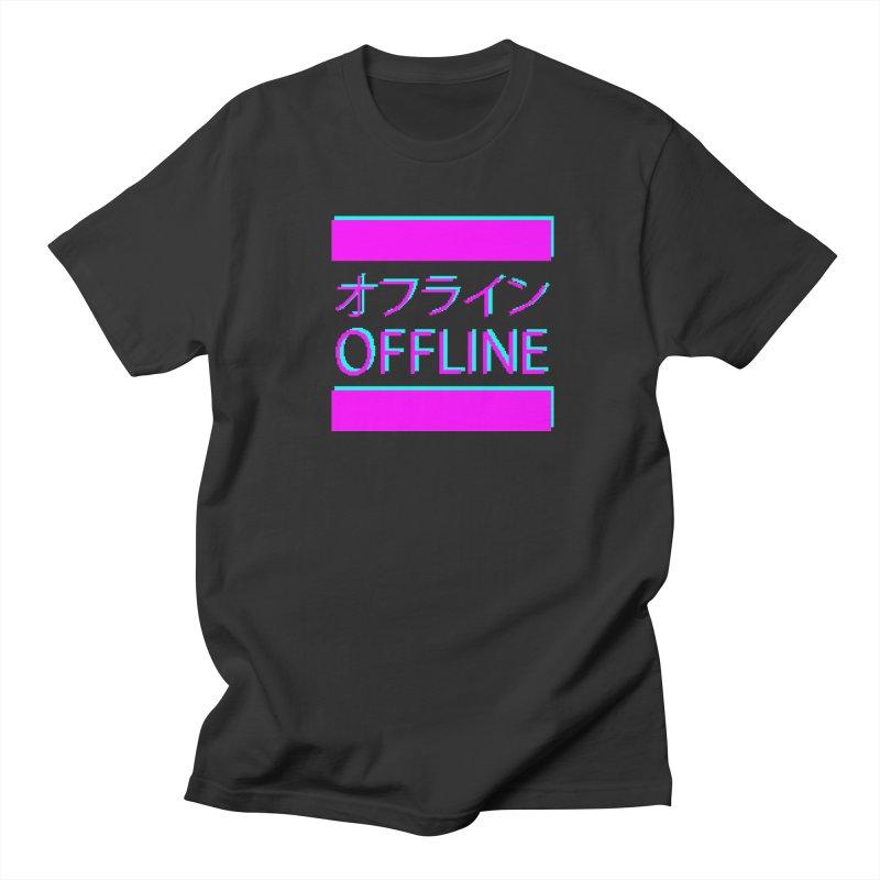 OFFLINE Men's T-Shirt by pinksyrup's Artist Shop