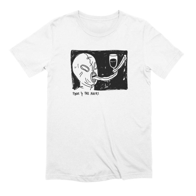 Pinot Logo Men's T-Shirt by Pinot & The Noirs Merch
