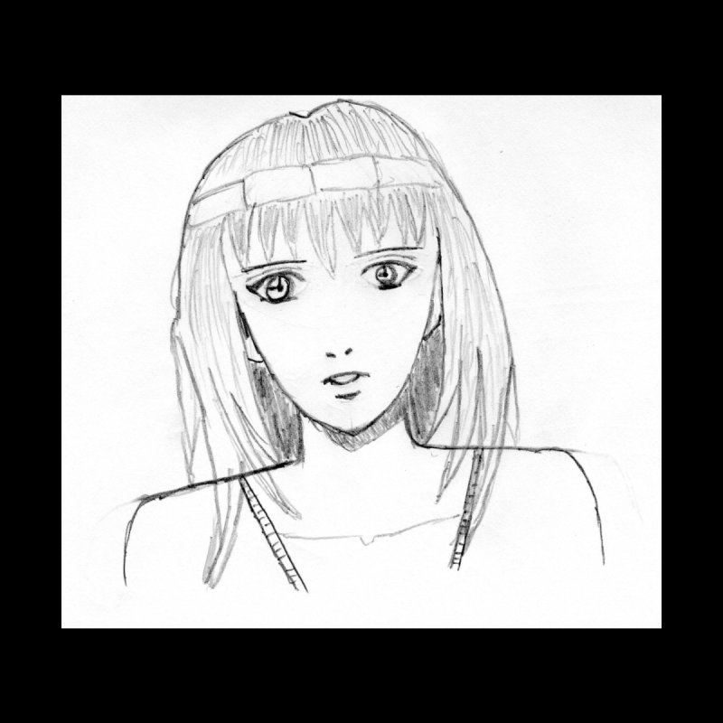 Manga Girl by Pintada Artist Shop