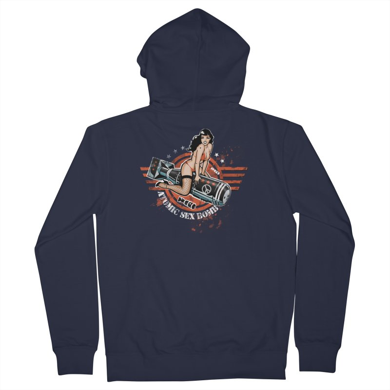 """""""Atomic Sex Bomb"""": ... baby you can turn me on! Women's Zip-Up Hoody by Pinupart.it - Mad Mac Art"""