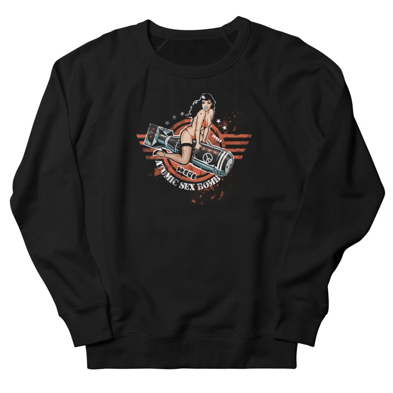 """""""Atomic Sex Bomb"""": ... baby you can turn me on! Men's Sweatshirt by Pinupart.it - Mad Mac Art"""