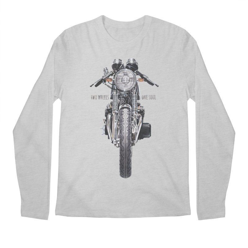 """""""Two Wheels One Soul"""": only for passionates! Men's Regular Longsleeve T-Shirt by Pinupart.it - Mad Mac"""