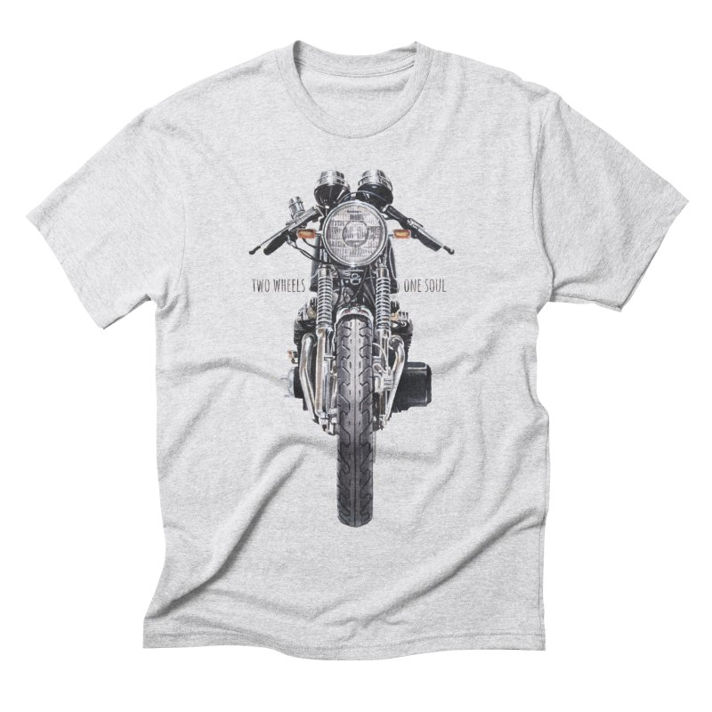"""Two Wheels One Soul"": only for passionates! Men's Triblend T-Shirt by Pinupart.it - Mad Mac"