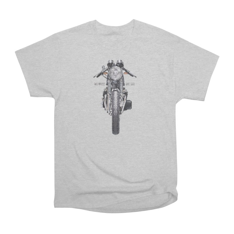 """""""Two Wheels One Soul"""": only for passionates! Men's T-Shirt by Pinupart.it - Mad Mac Art"""