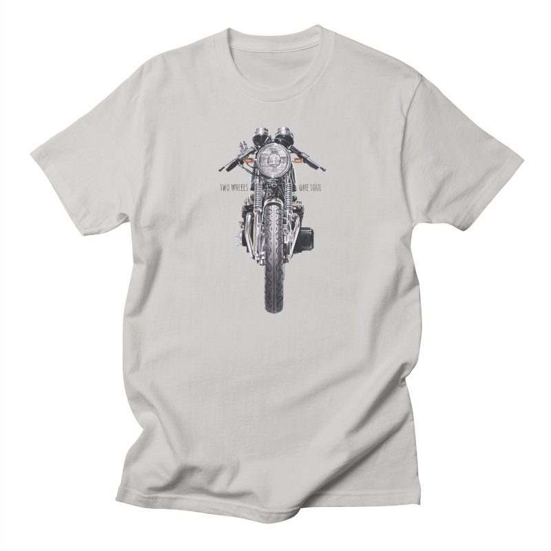"""Two Wheels One Soul"": only for passionates! Men's T-Shirt by Pinupart.it - Mad Mac Art"