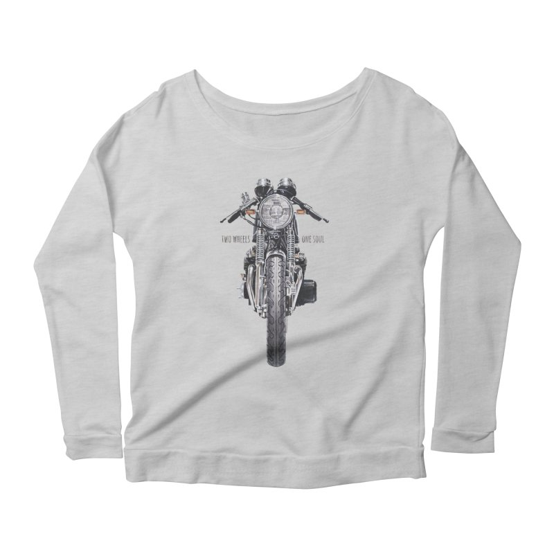 """""""Two Wheels One Soul"""": only for passionates! Women's Longsleeve T-Shirt by Pinupart.it - Mad Mac Art"""
