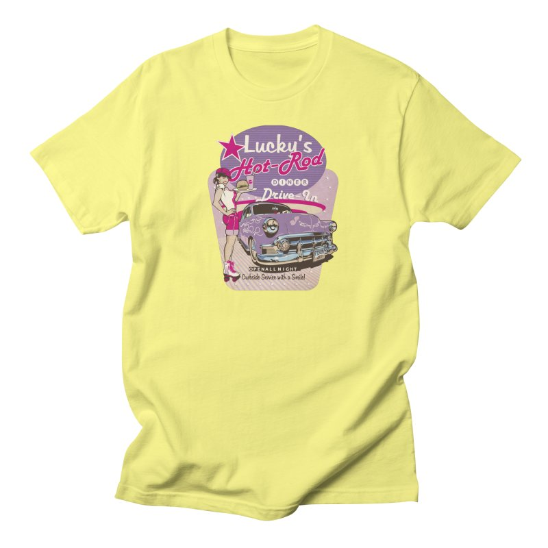 """""""Drive In"""": the Fabulous 50s! Men's T-Shirt by Pinupart.it - Mad Mac Art"""