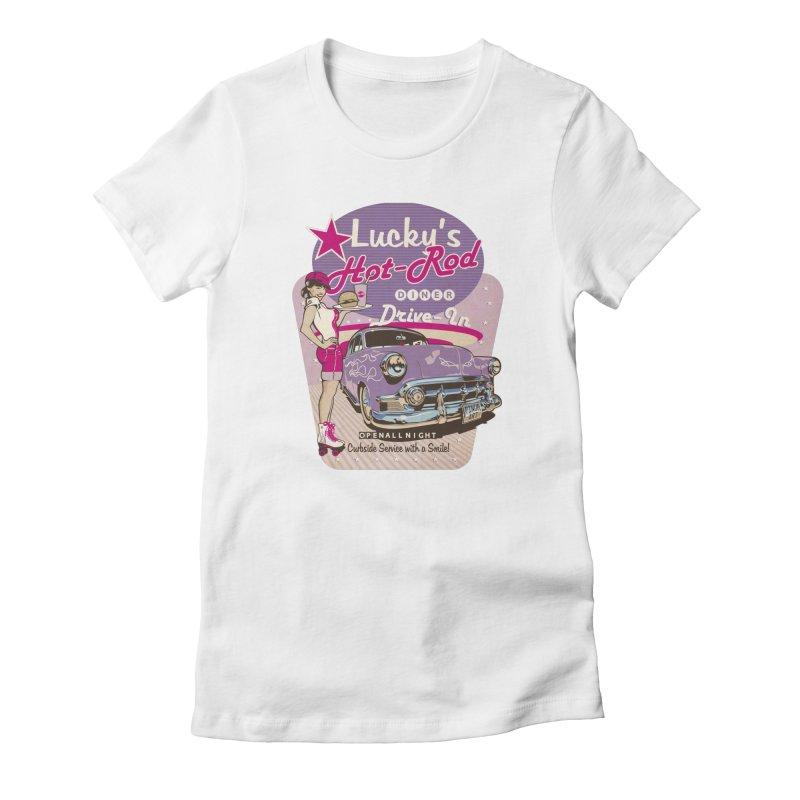 """Drive In"": the Fabulous 50s! Women's T-Shirt by Pinupart.it - Mad Mac Art"