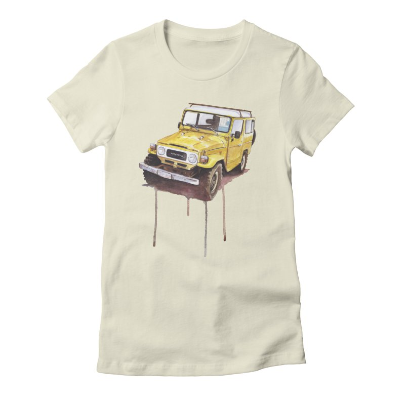 Rough Off-Road Women's T-Shirt by Pinupart.it - Mad Mac Art