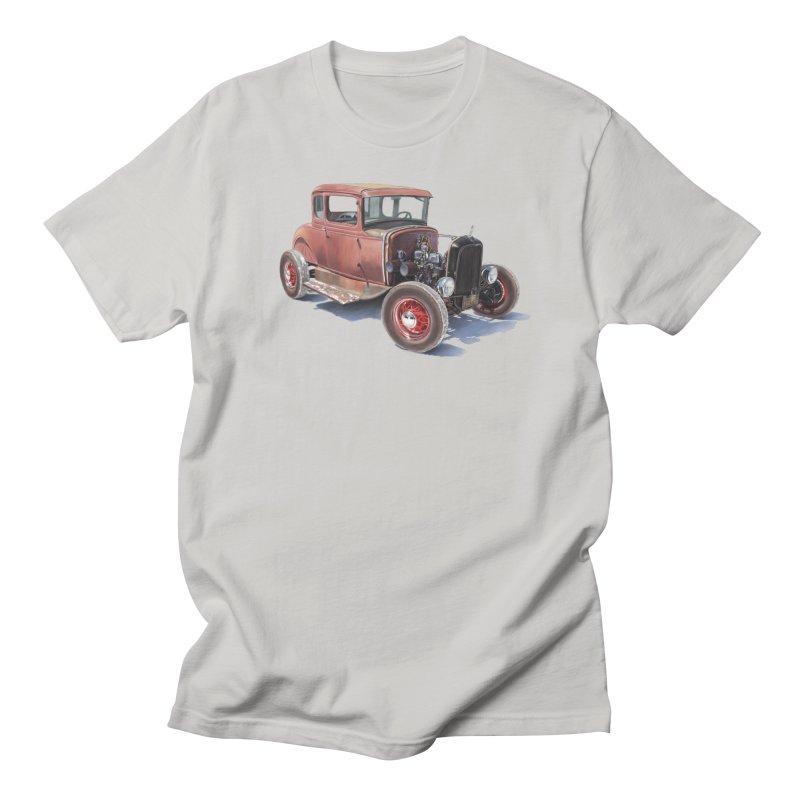"""Hot Rod on salt flat"": best of classic! Women's T-Shirt by Pinupart.it - Mad Mac Art"