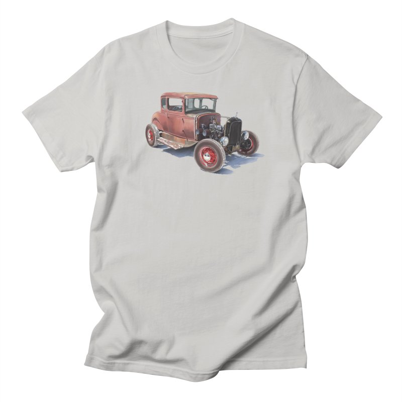 """Hot Rod on salt flat"": best of classic! Men's T-Shirt by Pinupart.it - Mad Mac Art"
