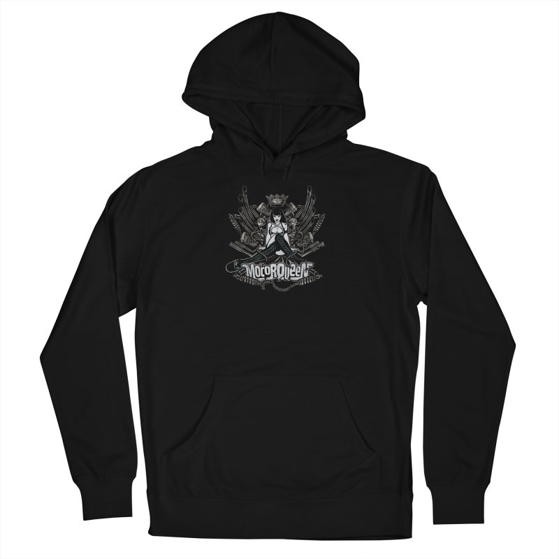 """Motorqueen"": our undisputed Queen of engines! Men's Pullover Hoody by Pinupart.it - Mad Mac Art"