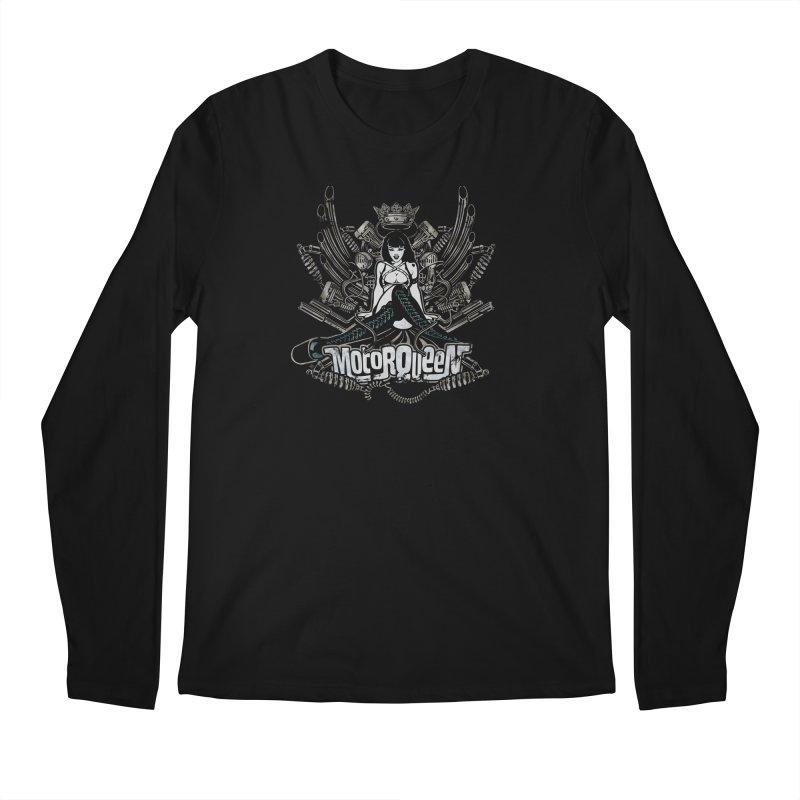 """Motorqueen"": our undisputed Queen of engines! Men's Longsleeve T-Shirt by Pinupart.it - Mad Mac Art"