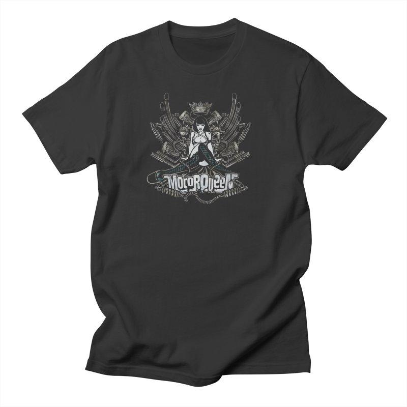 """Motorqueen"": our undisputed Queen of engines! Men's T-Shirt by Pinupart.it - Mad Mac Art"